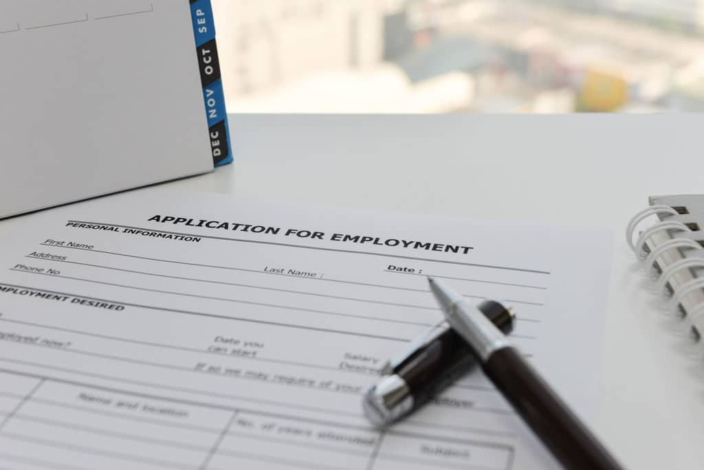 employee background check do not believe resume